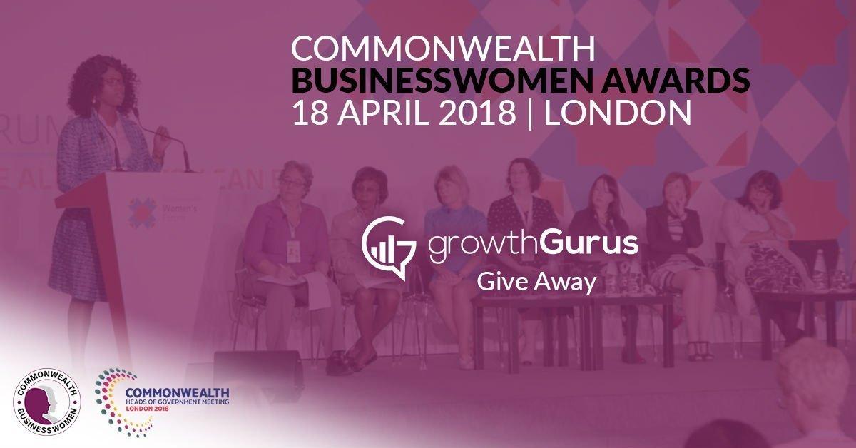 Growth Gurus Giveaway Commonwealth