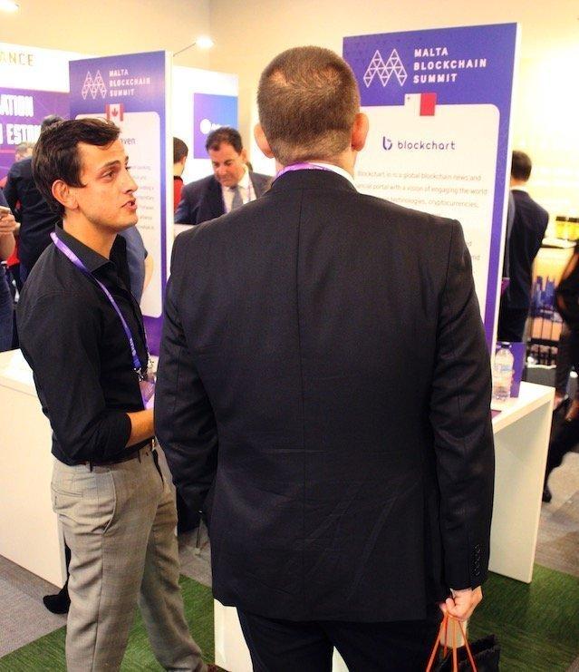 Blockchart at Malta Blockchain Summit